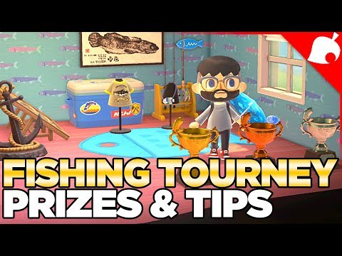 Fishing Tourney Prizes & Tips For Animal Crossing New Horizons