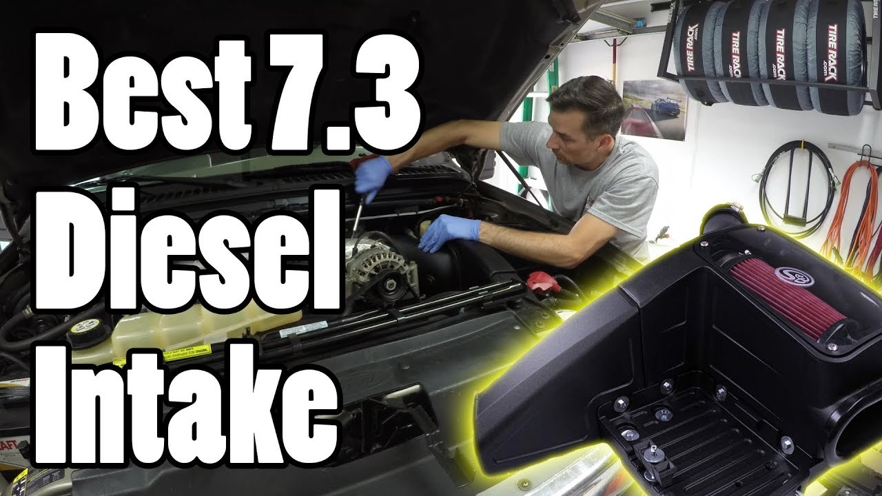 The Best Intake For Your 7 3 Powerstroke Diesel Youtube