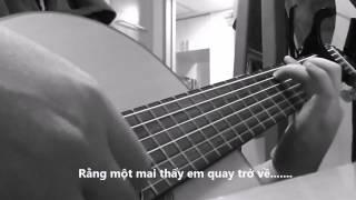 Con đường mưa guitar solo