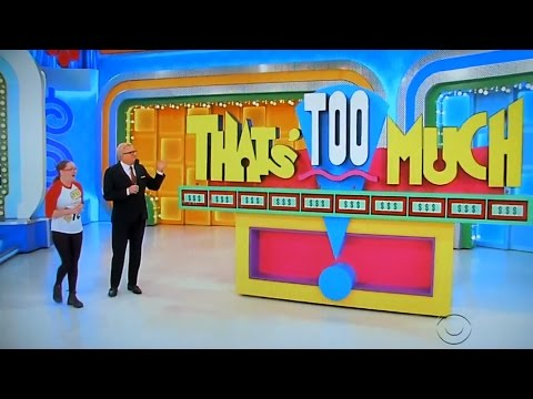 The Price is Right - That's Too Much - 5/11/2017