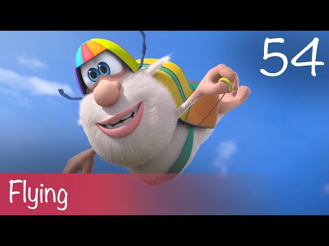 Booba - Flying - Episode 54 - Cartoon For Kids
