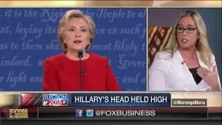 Mornings With Maria Tonya Reiman The Body Language Debate Trump Vs Clinton 2016