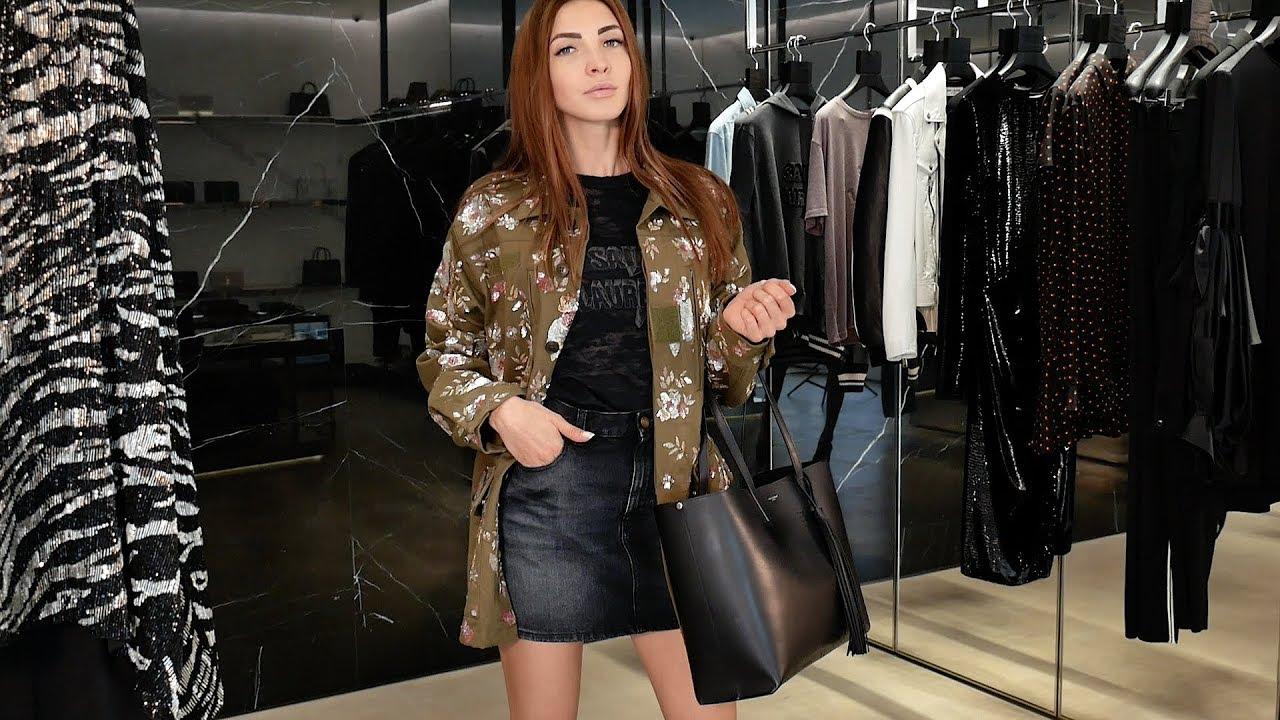 Женский удобный образ в стиле casual от Saint Laurent, review