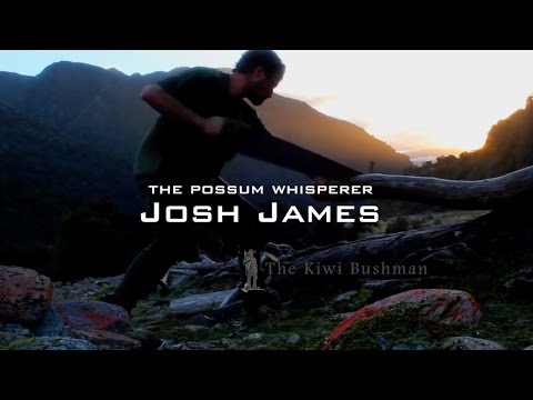Josh James the possum whisperer - fur trapping for a living