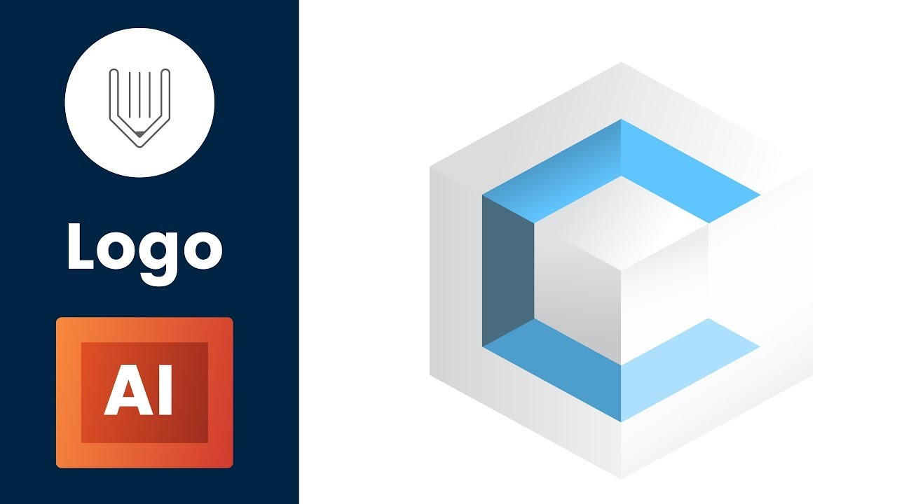 Isometric Logo Glitch By Obispost: How To Design A Simple Isometric Logo In Adobe Illustrator