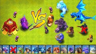 "ALL TROOPS vs. SIEGE BARRACKS!! ""Clash Of Clans"" NEW UPDATE!!"