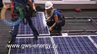 Установка солнечных батарей(, 2014-03-31T19:15:19.000Z)