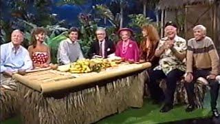 Gilligan's Island Reunion 1988-Fox Late Show--Bob Denver, Alan Hale, Jim Backus, Tina Louise