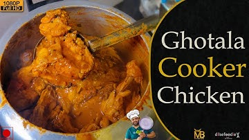 Ghotala Cooker Chicken At Gym Wala Launda's Home