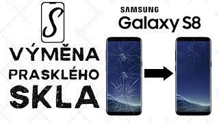 Výměna prasklého skla displeje Samsung Galaxy S8 – G950F