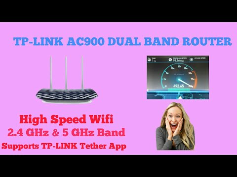 TP-LINK ARCHER C20 - AC900 DUAL BAND WIFI ROUTER