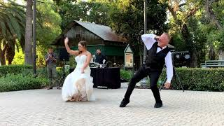Father Daughter First Dance   Surprise white man can dance
