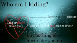 Christina Aguilera & Blake Shelton - Just a Fool unreleased lyric video