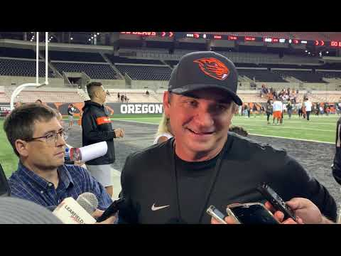 Coach Smith Reviews Beavers Scrimmage
