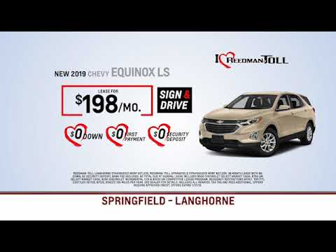 Reedman Toll Chevrolet January 2019 Lease Specials
