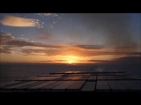 Crossing the Pacific on a Container Ship