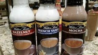Taste Test: Walden Farms Coffee Creamers