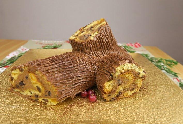 Come Decorare Un Tronchetto Di Natale.Tronchetto Di Natale Senza Cottura La Ricetta Facile E Veloce
