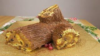 Ricetta Tronchetto Di Natale Con Panettone.Tronchetto Di Natale Senza Cottura La Ricetta Facile E Veloce Youtube