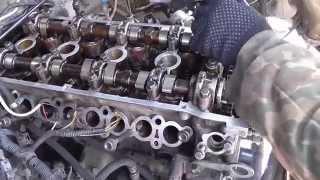 Замена прокладки головки 405.22 двигателя(Сборка двигателя после замены прокладки блока цилиндров. Установка головки правильность сборки. Часть..., 2015-04-05T01:55:22.000Z)