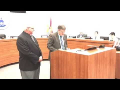 Hillsborough Board of County Commissioners honors County Audit Director Steve Hooper