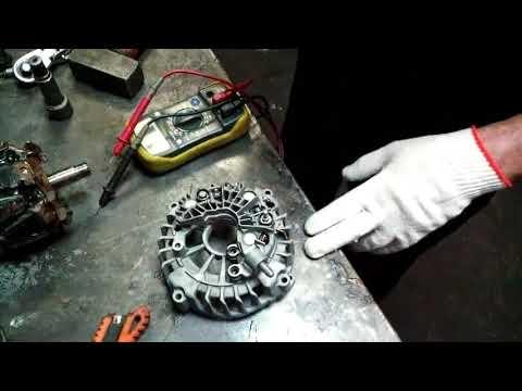 видео: Ремонт генератора (Валео), автомобили Ситроен, Пежо.
