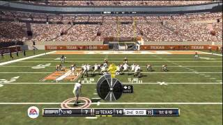 NCAA 12 ONLINE: POCKET PRESENCE AND READING COVERAGES