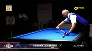 #6 - Gilbert NAJM vs Frank TORRES / 2018 USBA 3 Cushion National Championship