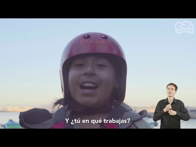 Rescatista: Y tú, ¿En qué trabajas? | Videos en lengua de señas chilena para niños