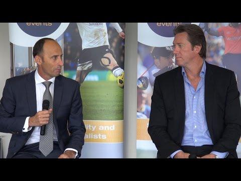 England v Australia with Nasser Hussain & Glenn McGrath