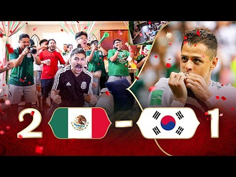REACTING TO MEXICO VS SOUTH KOREA 2018 WORLD CUP