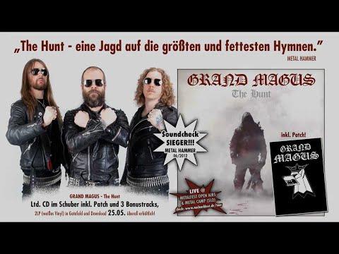 GRAND MAGUS - The Hunt (OFFICIAL LYRICS)