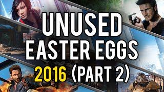 Best Unused Video Game Easter Eggs of 2016 (Part 2)