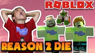 THEY TURNED US INTO ZOMBIES! / ROBLOX REASON 2 DIE
