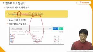 Node.js 프로그래밍 10강 HTTP POST 요청 2 | T아카데미