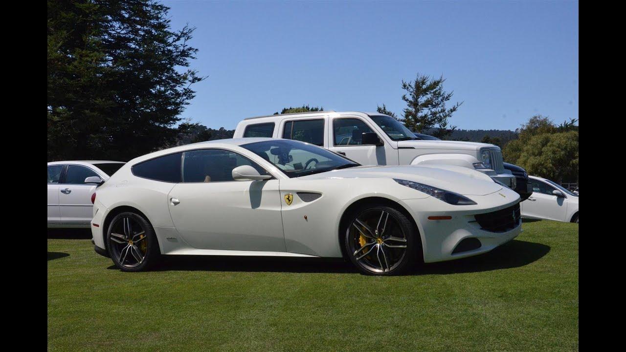 White Ferrari FF YouTube