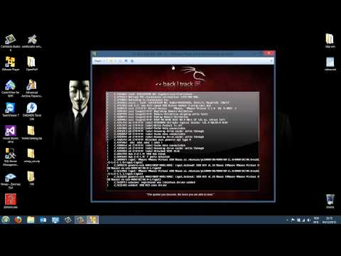Como instalar o BackTrack 5 R3 Linux numa Máquina Virtual (VMware - Virtual Machine)