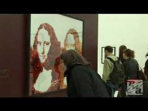 Food Art Comes to Moscow. Video RIA Novosti