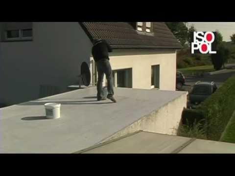 Gut bekannt Flachdachsanierung mit Flüssigkunststoff - YouTube LP88