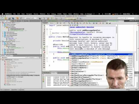 Talking To WebSockets From Java