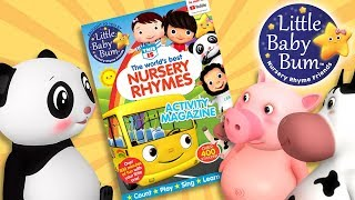 Learn with Little Baby Bum Magazine! Lots Of Activities! | Nursery Rhyme Friends