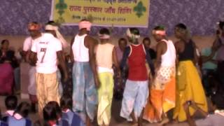 Chhattisgarh Tribal Folk Dance by Scout Guide Girls and Boys