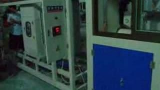 PVC pipe extrusion line(website------egmachinery.com)