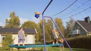 World's best trampoline tricks Quad, cork 2500!!!