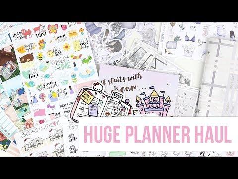 Planner Haul! GP Studio, KPL Plans, Once More with Love, RAK Paper Stickers