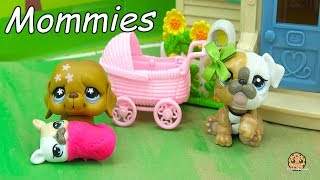 Grand-Puppy - LPS Mommies Littlest Pet Shop Mom & Baby Series - Cookie Swirl C Video