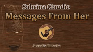 Messages From Her - Sabrina Claudio (Acoustic Karaoke)