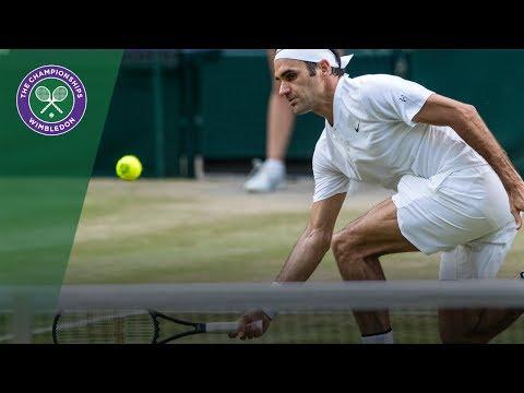 Roger Federer v Grigor Dimitrov highlights - Wimbledon 2017 fourth round