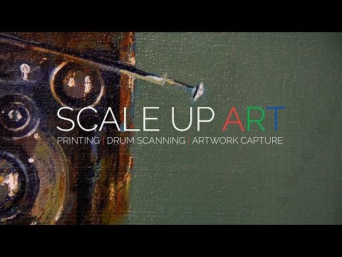 Scale Up Art Fine Art Printing - Gigapixel Artwork Scanning & Capture