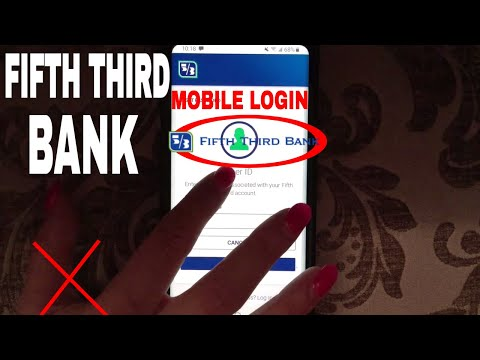 ✅  How To Register Login Find Password Fifth Third Bank Mobile Website 🔴
